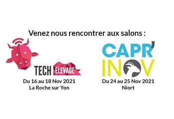Salons Tech Elevage et Capr'Inov