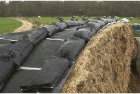 PROMO - Grille de protection silo verte 220g/m² 10x12 M